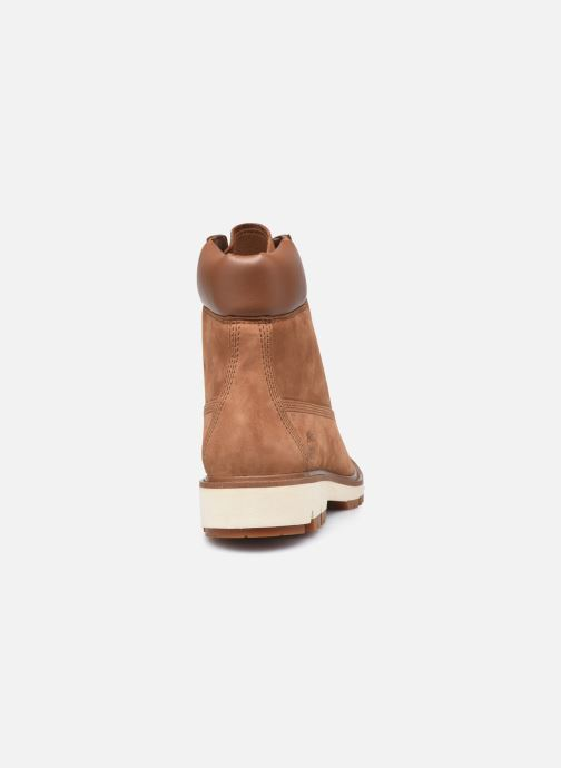 Botines  Timberland Lucia Way 6in Boot WP Marrón vista lateral derecha