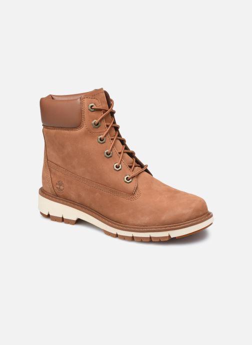 Stiefeletten & Boots Timberland Lucia Way 6in Boot WP braun detaillierte ansicht/modell