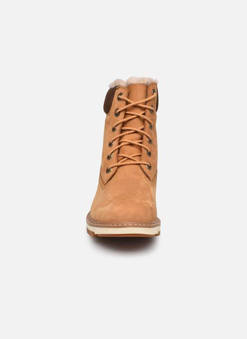 Stiefeletten & Boots Timberland Lucia6inWarmLinedBootWP braun schuhe getragen