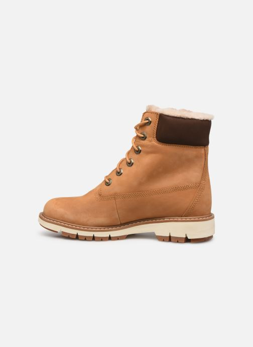 Boots en enkellaarsjes Timberland Lucia6inWarmLinedBootWP Bruin voorkant