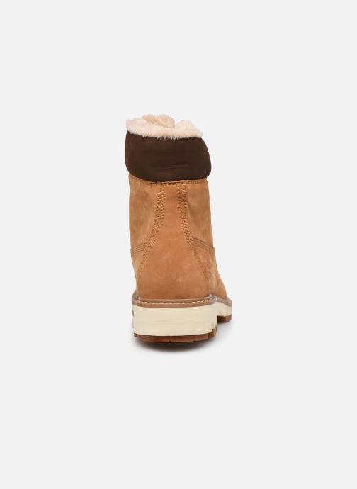 Boots en enkellaarsjes Timberland Lucia6inWarmLinedBootWP Bruin rechts