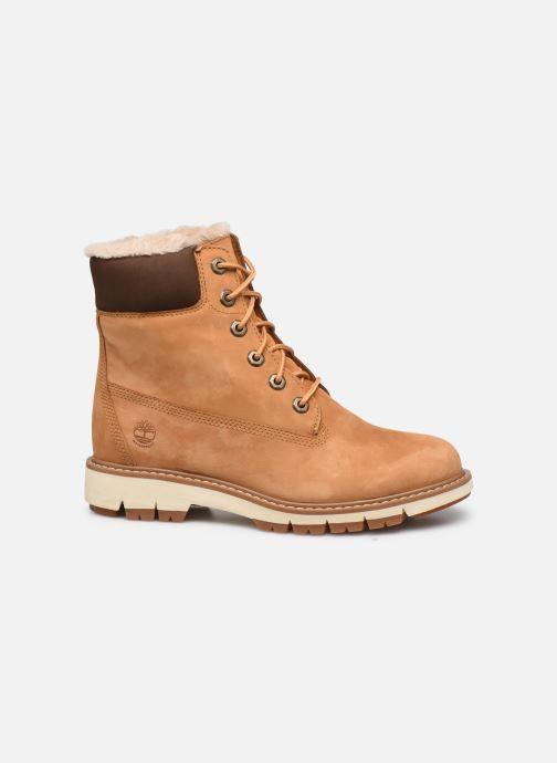 Boots en enkellaarsjes Timberland Lucia6inWarmLinedBootWP Bruin achterkant