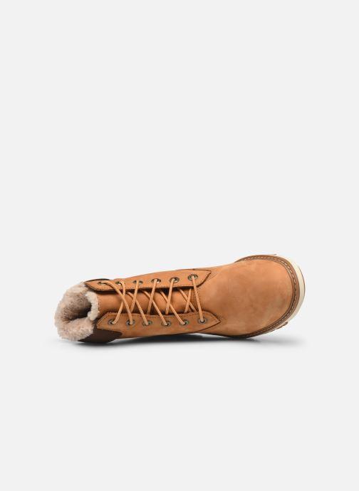 Boots en enkellaarsjes Timberland Lucia6inWarmLinedBootWP Bruin links