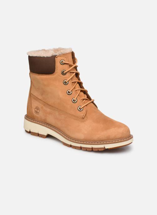 Boots en enkellaarsjes Timberland Lucia6inWarmLinedBootWP Bruin detail