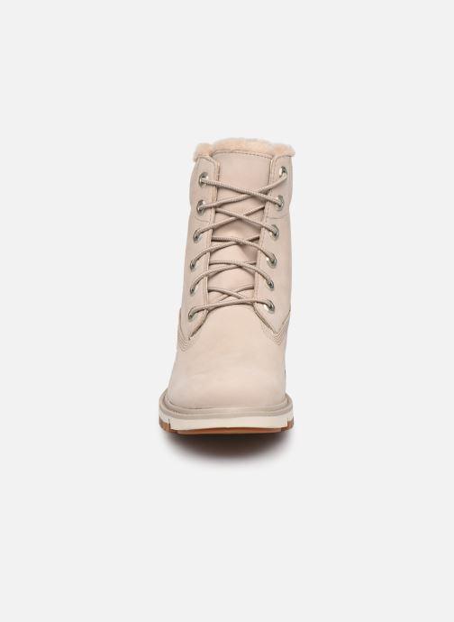 Stiefeletten & Boots Timberland Lucia6inWarmLinedBootWP grau schuhe getragen