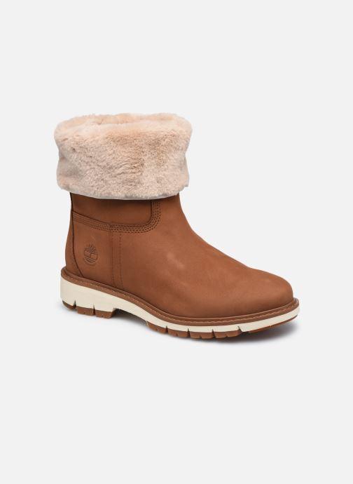 Boots en enkellaarsjes Timberland LuciaPullOnFauxFurFDWP Bruin detail