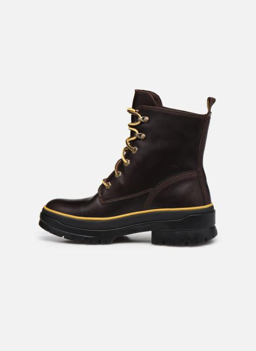 Stiefeletten & Boots Timberland Malynn Mid Lace EK+ WP braun ansicht von vorne