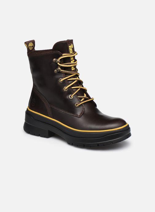 Stiefeletten & Boots Timberland Malynn Mid Lace EK+ WP braun detaillierte ansicht/modell