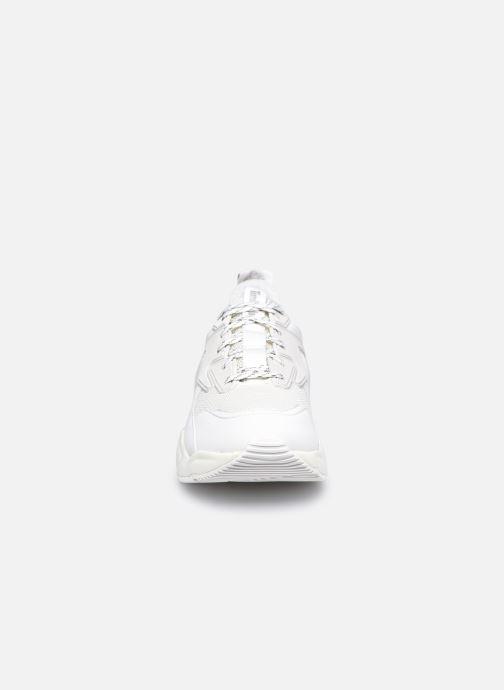 Sneaker Timberland DelphivilleTextileSneaker weiß schuhe getragen