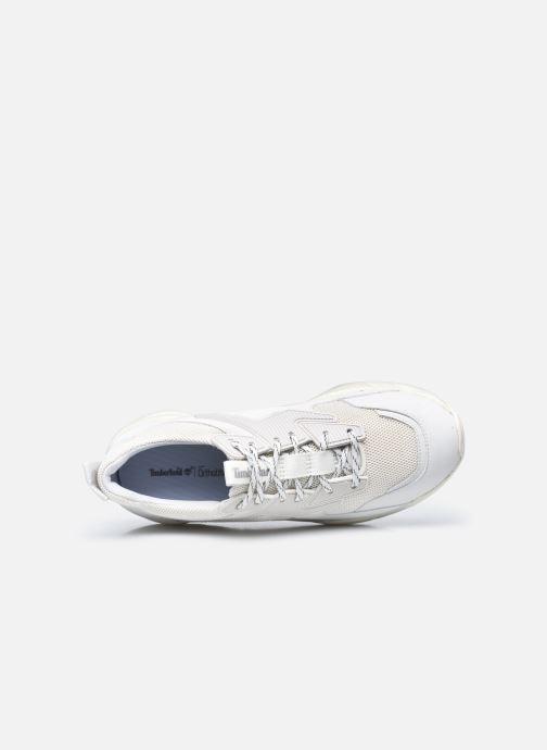 Sneaker Timberland DelphivilleTextileSneaker weiß ansicht von links