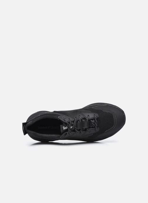 Sneaker Timberland DelphivilleTextileSneaker schwarz ansicht von links
