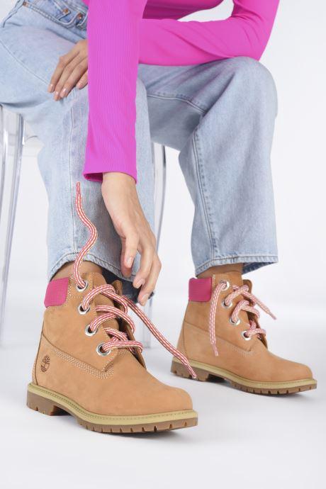 Stiefeletten & Boots Timberland 6In Convenience Lace Boot braun ansicht von unten / tasche getragen