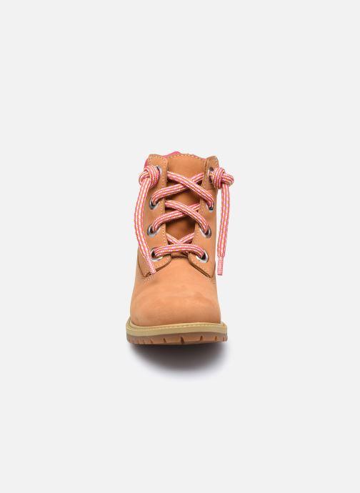 Stiefeletten & Boots Timberland 6In Convenience Lace Boot braun schuhe getragen