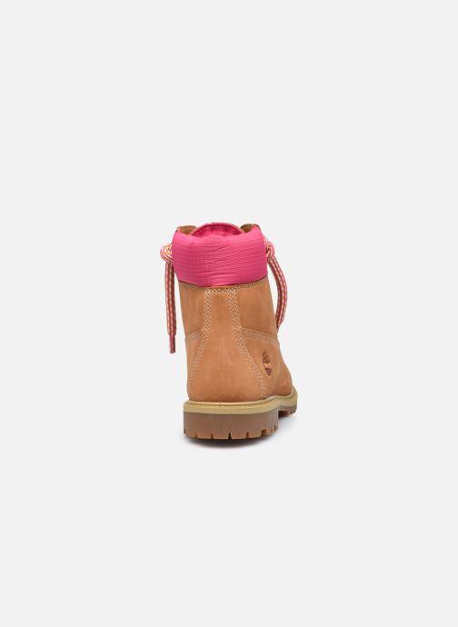 Stiefeletten & Boots Timberland 6In Convenience Lace Boot braun ansicht von rechts