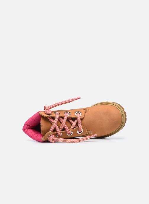 Stiefeletten & Boots Timberland 6In Convenience Lace Boot braun ansicht von links