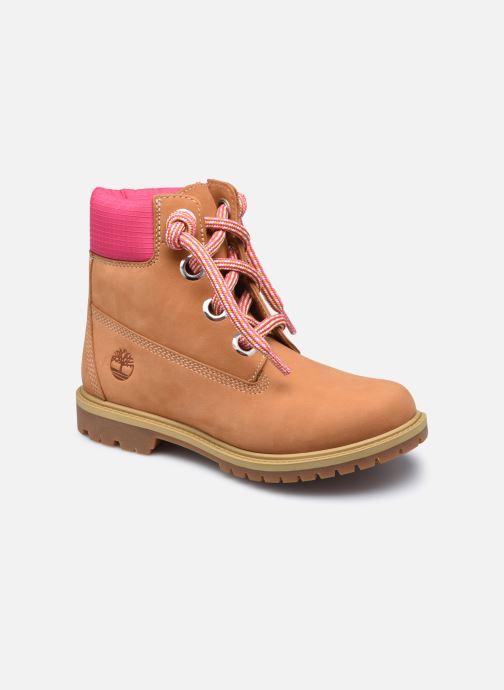 Bottines et boots Timberland 6In Convenience Lace Boot Marron vue détail/paire