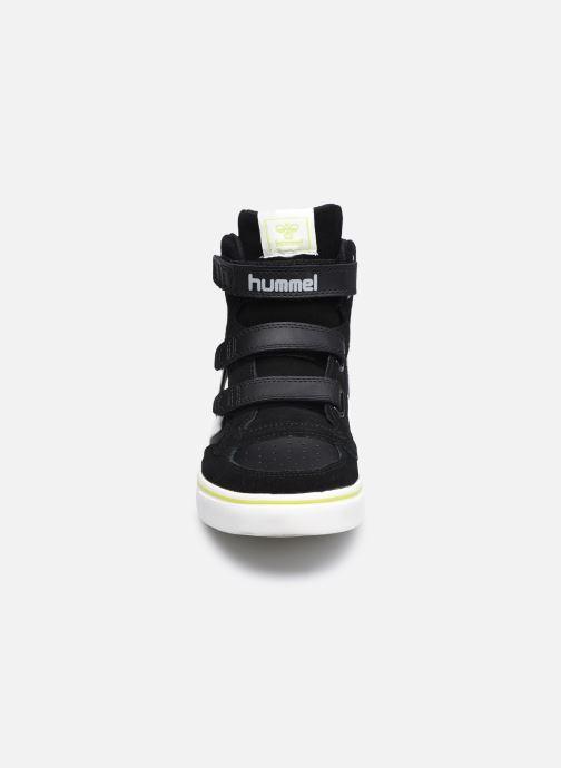 Baskets Hummel Stadil Pro Jr 2 Noir vue portées chaussures