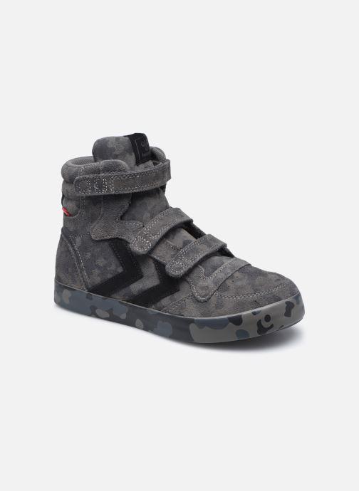 Sneaker Hummel Stadil Camo Jr schwarz detaillierte ansicht/modell