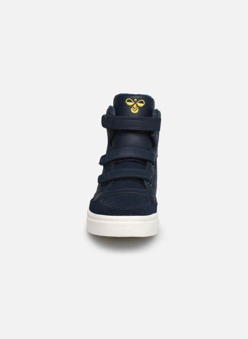Sneakers Hummel Stadil Check Jr Blauw model