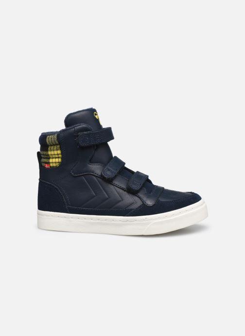 Sneaker Hummel Stadil Check Jr blau ansicht von hinten