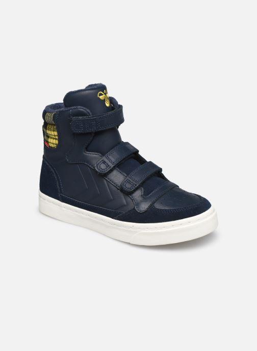 Sneaker Hummel Stadil Check Jr blau detaillierte ansicht/modell