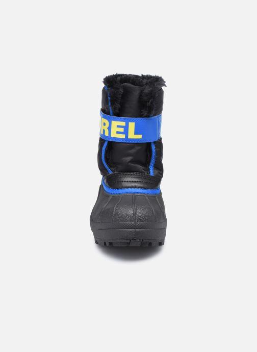 Sportschuhe Sorel Children's Snow Commander schwarz schuhe getragen