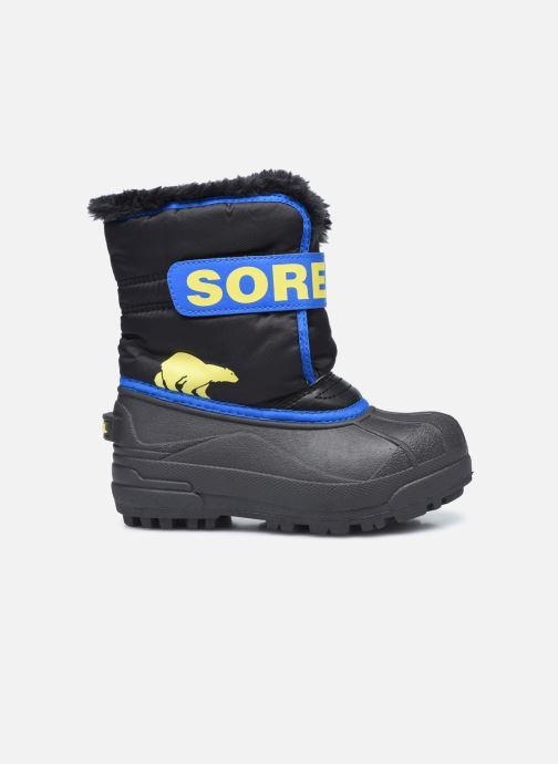 Sportschuhe Sorel Children's Snow Commander schwarz ansicht von hinten