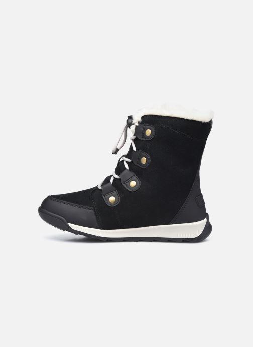 Stiefeletten & Boots Sorel Youth Whitney II Suede schwarz ansicht von vorne