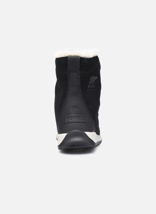 Stiefeletten & Boots Sorel Youth Whitney II Suede schwarz ansicht von rechts