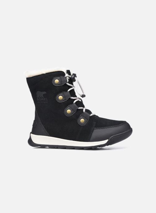 Stiefeletten & Boots Sorel Youth Whitney II Suede schwarz ansicht von hinten