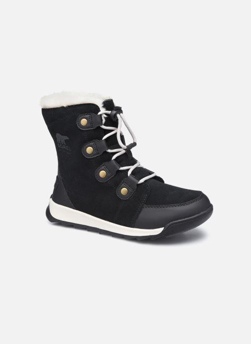 Stiefeletten & Boots Sorel Youth Whitney II Suede schwarz detaillierte ansicht/modell