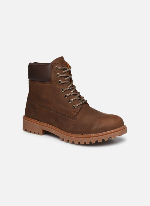 Stiefeletten & Boots Lumberjack RIVER 034 braun detaillierte ansicht/modell