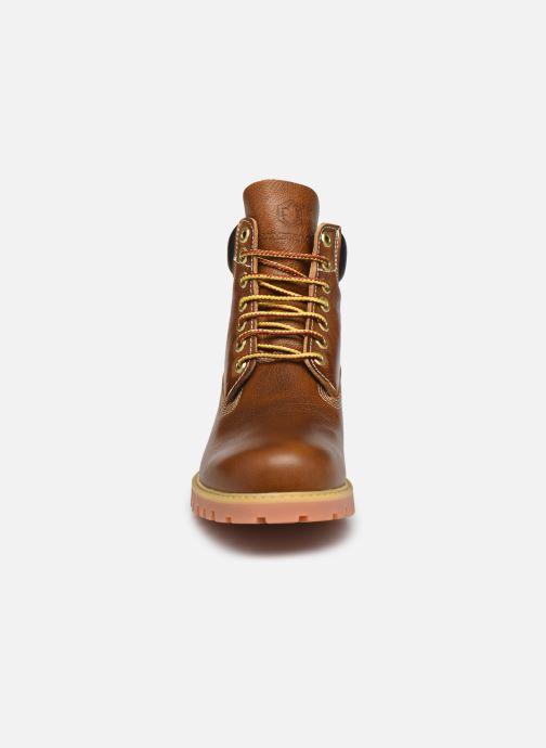 Stiefeletten & Boots Lumberjack ETHAN braun schuhe getragen