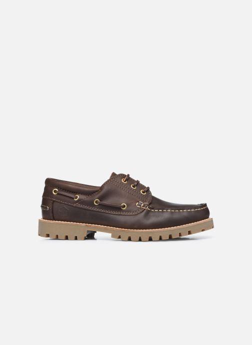 Zapatos con cordones Lumberjack HALLBERG BOAT SHOE Marrón vistra trasera