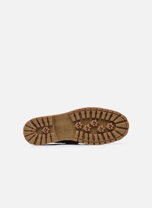 Zapatos con cordones Lumberjack HALLBERG BOAT SHOE Marrón vista de arriba