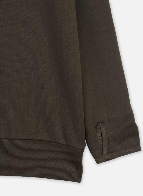 Vêtements Hummel Hmlsawo Hoodie Vert vue face