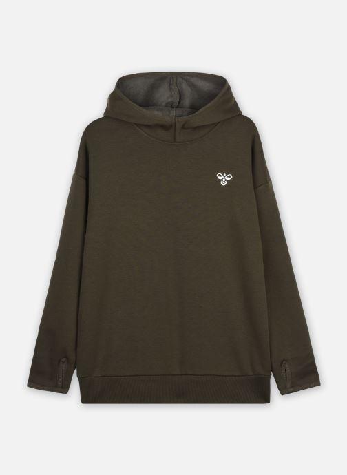 Vêtements Hummel Hmlsawo Hoodie Vert vue détail/paire