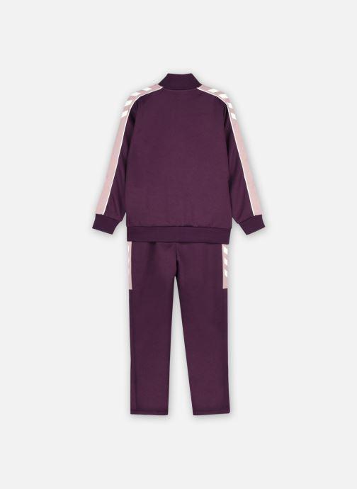 Vêtements Hummel Hmlnat Tracksuit Violet vue portées chaussures