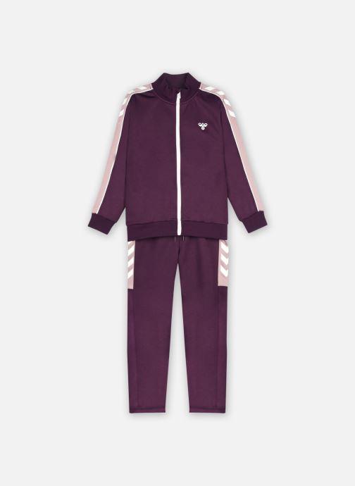 Vêtements Hummel Hmlnat Tracksuit Violet vue détail/paire
