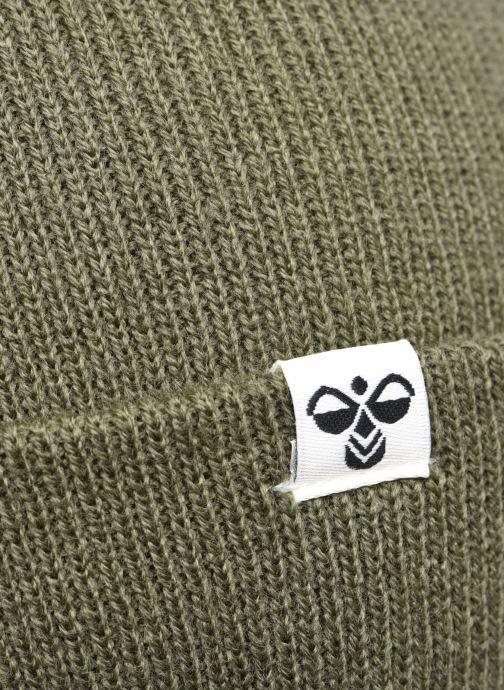 Mütze Hummel Hmlpark Beanie grün ansicht von vorne