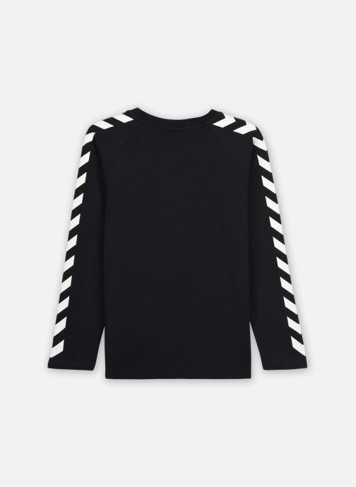 Vêtements Hummel Hmlboys T-Shirt L/S Noir vue portées chaussures