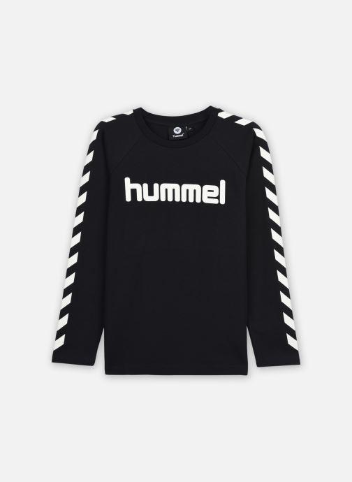 Vêtements Hummel Hmlboys T-Shirt L/S Noir vue détail/paire