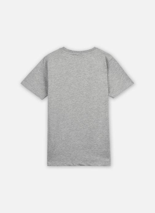 Vêtements Hummel Hmltres T-Shirt S/S Gris vue portées chaussures