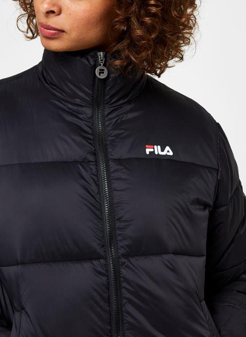Vêtements FILA Sussi Puff Jacket Noir vue face