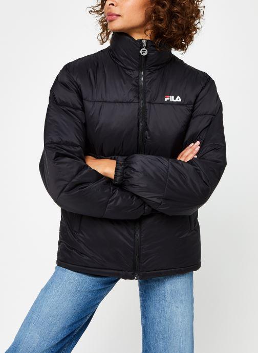 Vêtements FILA Sussi Puff Jacket Noir vue droite