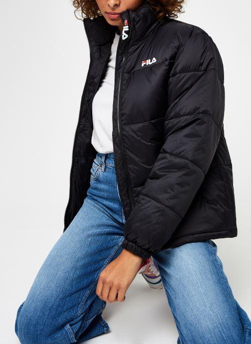 Vêtements FILA Sussi Puff Jacket Noir vue détail/paire