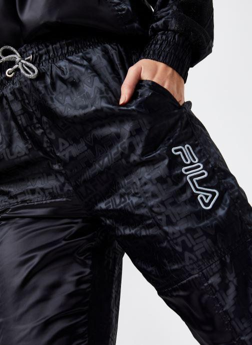 Vêtements FILA Tamara Woven Pants High Waist Noir vue face