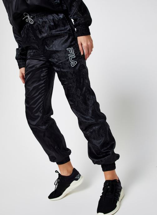 Vêtements FILA Tamara Woven Pants High Waist Noir vue détail/paire