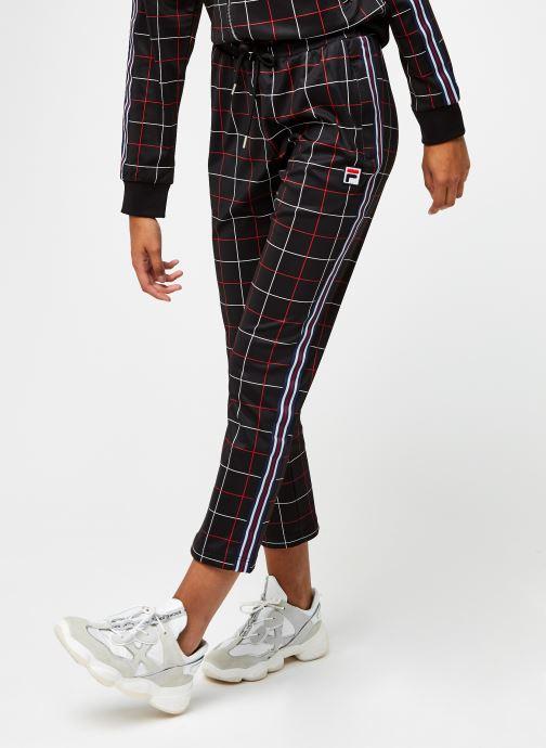 Vêtements FILA Winta AOP Cropped Pants Noir vue détail/paire