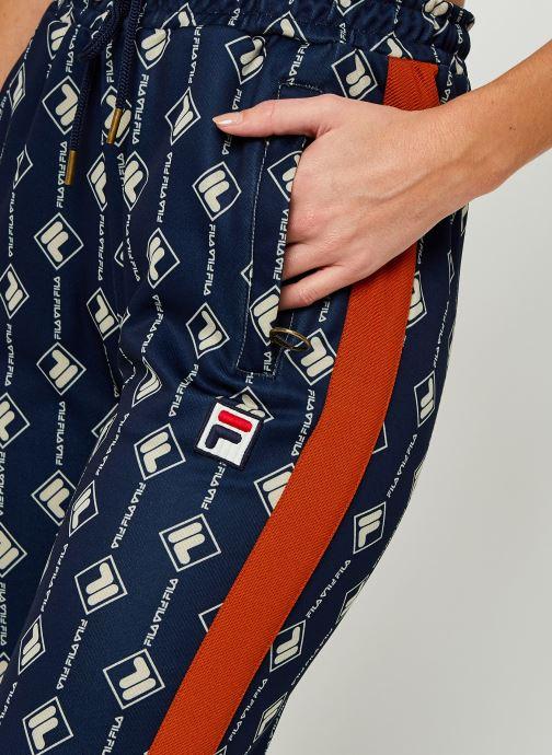Vêtements FILA Hamo AOP Track Pants Bleu vue face